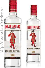 Джин Beefeater.