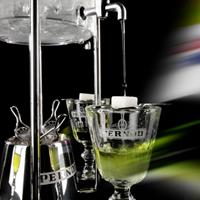 абсент, фонтан, классический, пить